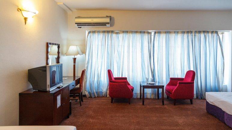 هتل ارم کیش فضای داخلی اتاق ها