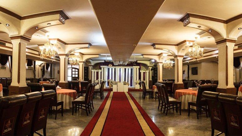 هتل شهر تهران تالار پذیرایی