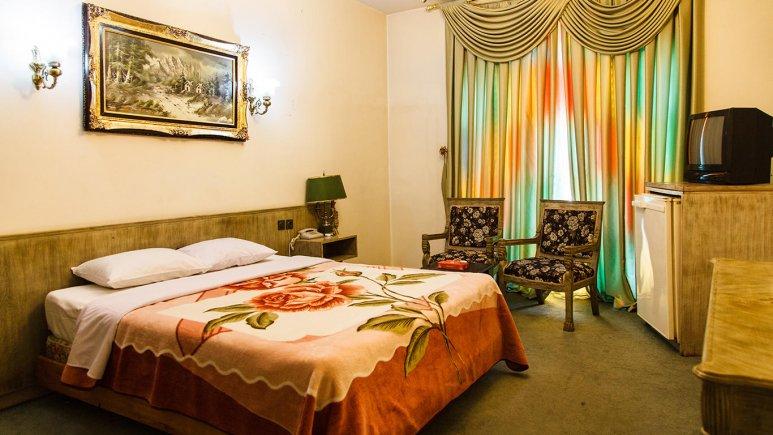 هتل شهر تهران اتاق دو تخته دابل