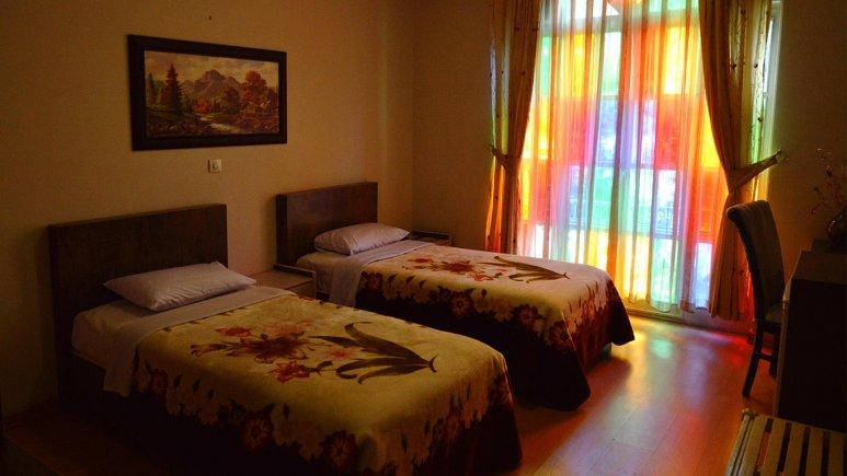 هتل شهر تهران اتاق دو تخته تویین 2