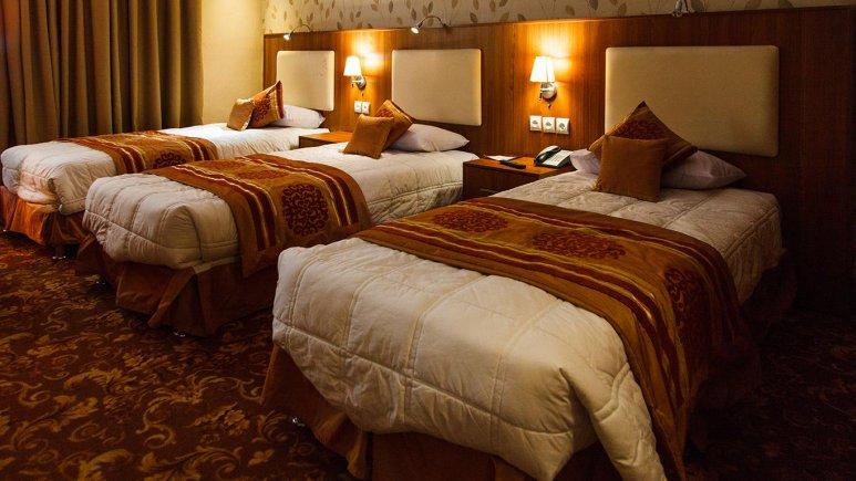 هتل شهر تهران اتاق سه تخته