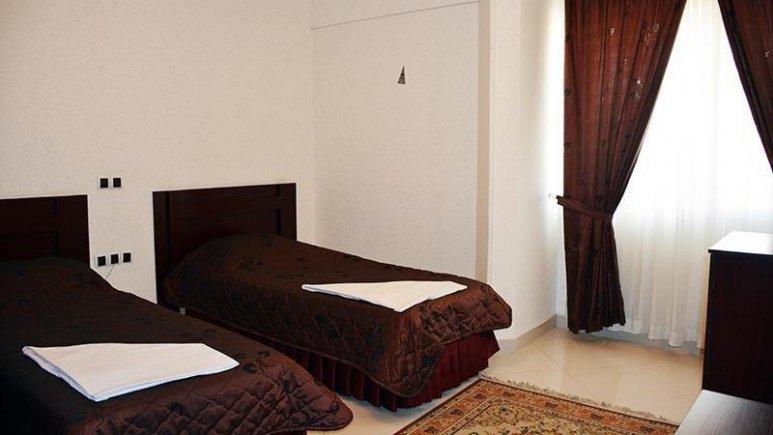 هتل ارم مشهد اتاق دو تخته تویین