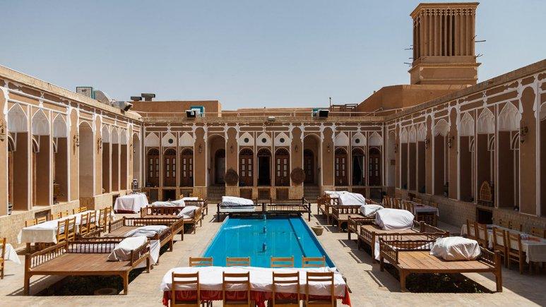 هتل سنتی مهر یزد فضای داخلی هتل