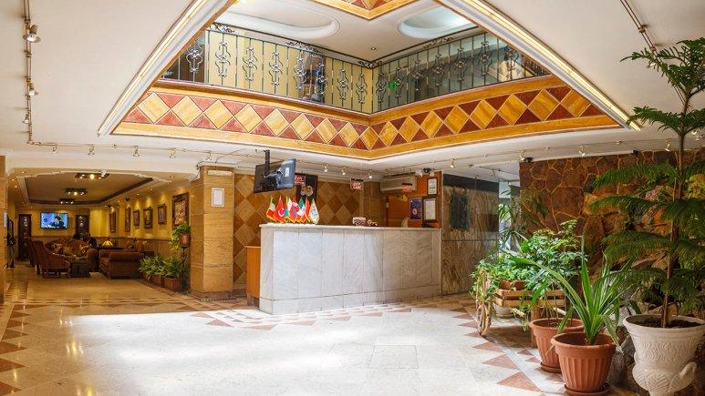 هتل سی برگ مشهد پذیرش