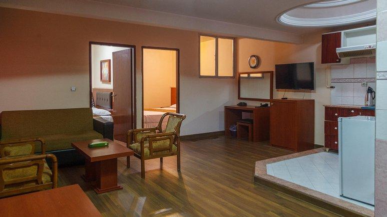 هتل سی برگ مشهد آپارتمان دو خوابه چهار تخته