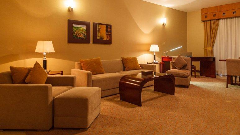 هتل مارینا پارک کیش فضای داخلی اتاق ها