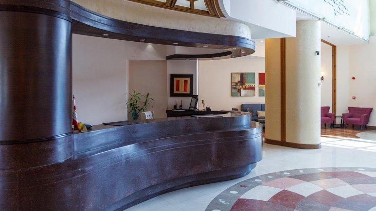 هتل سورینت صدف کیش پذیرش