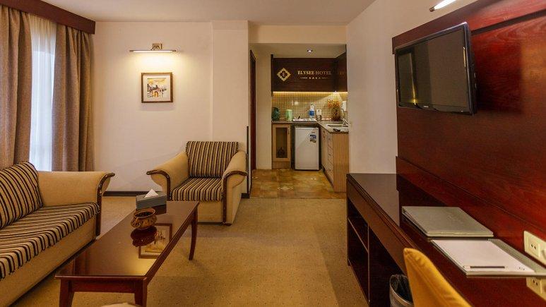هتل الیزه شیراز فضای داخلی سوئیت ها 1