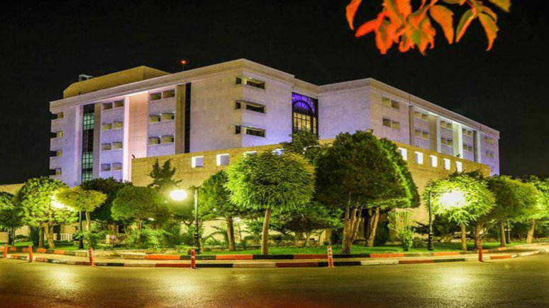 هتل پردیسان مشهد نمای بیرونی