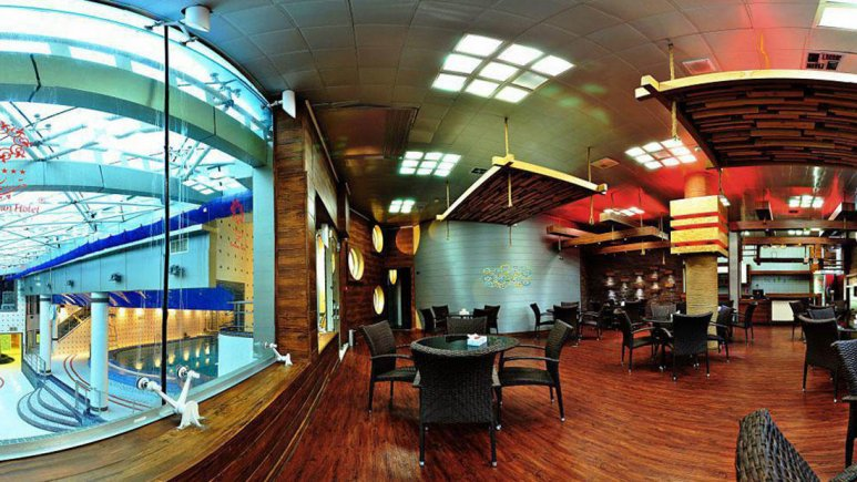 هتل پردیسان مشهد استخر 3