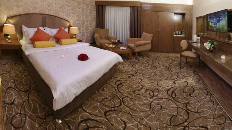 هتل پردیسان مشهد اتاق دو تخته دابل لوکس
