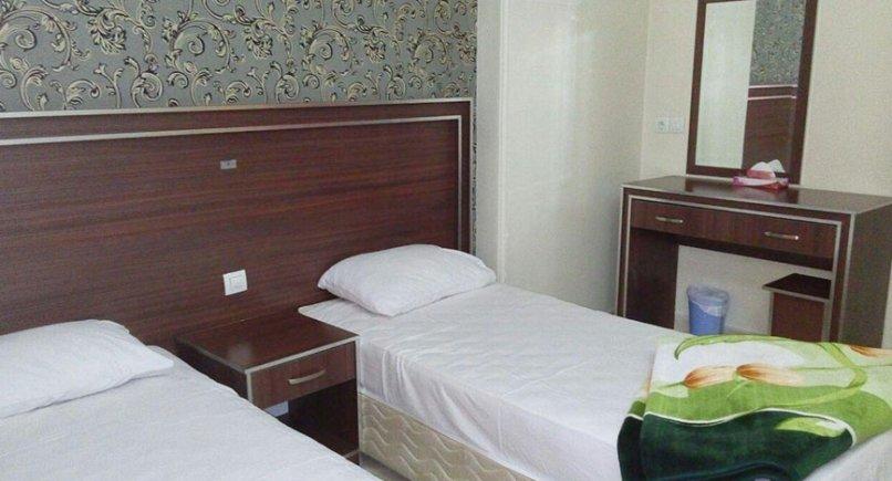 اتاق دو تخته هتل نیکا