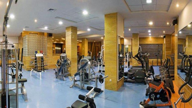 سالن تندرستی هتل چمران شیراز