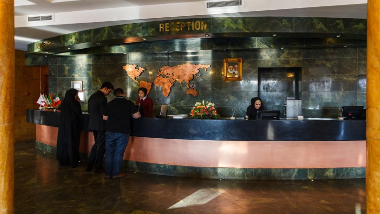 پذیرش هتل چمران شیراز