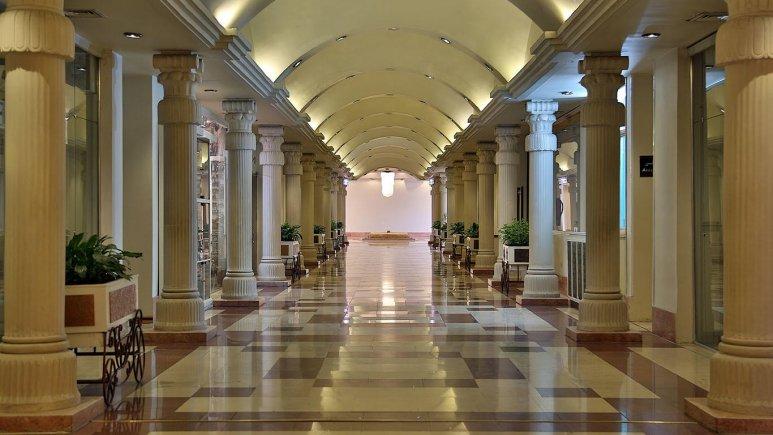 راهرو لابی هتل هما شیراز