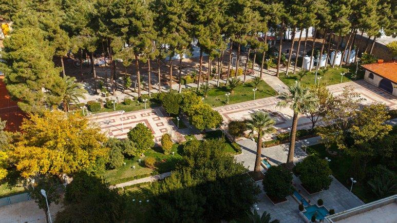 هتل هما شیراز فضای بیرونی هتل 1