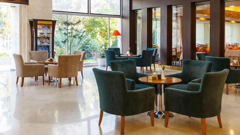 هتل هما شیراز کافی شاپ