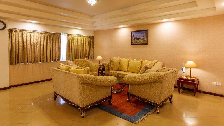 هتل هما شیراز فضای داخلی سوئیت ها