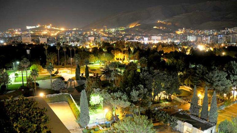 چشم انداز هتل هما شیراز