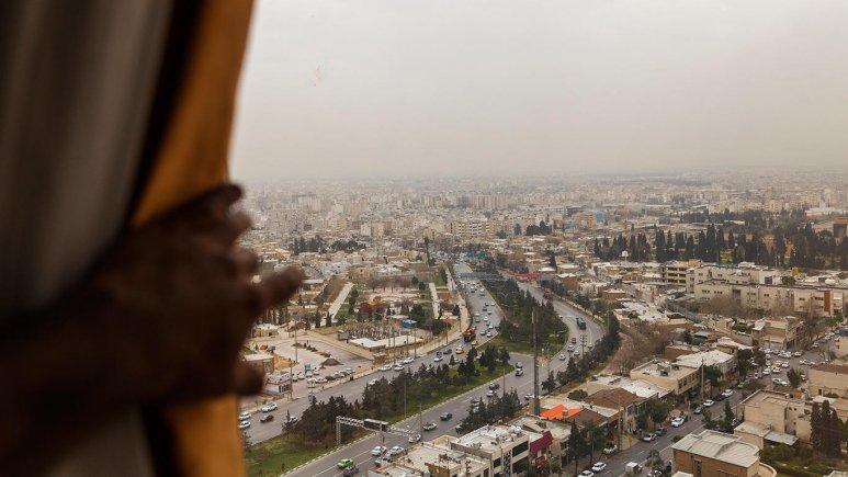 هتل بزرگ شیراز چشم انداز اتاق ها