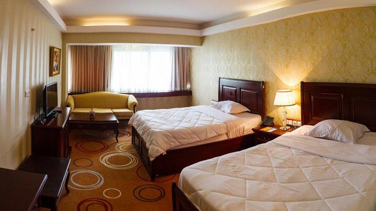 هتل بزرگ شیراز اتاق دو تخته تویین 3