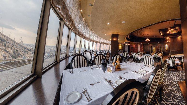 هتل بزرگ شیراز رستوران 5