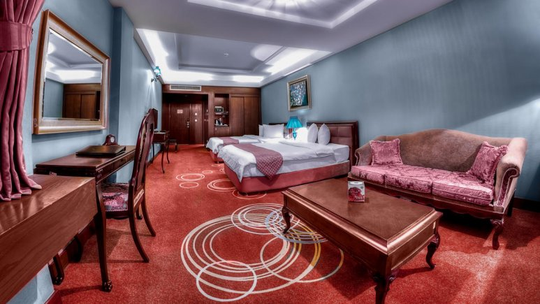 هتل بزرگ شیراز اتاق دو تخته تویین 5