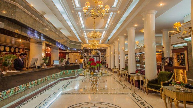هتل بین المللی قصر مشهد پذیرش
