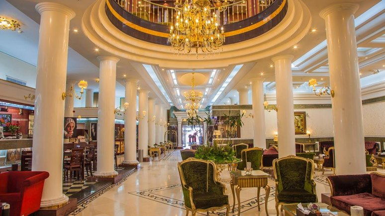 هتل بین المللی قصر مشهد لابی 1