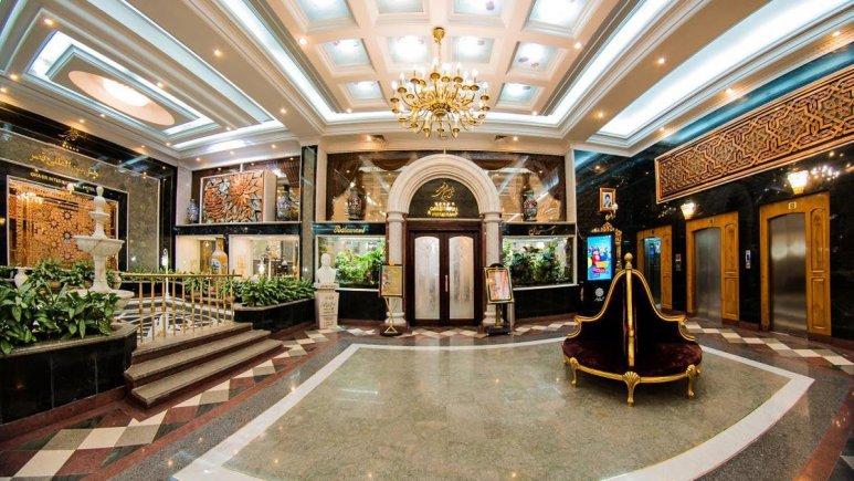 هتل بین المللی قصر مشهد لابی 2