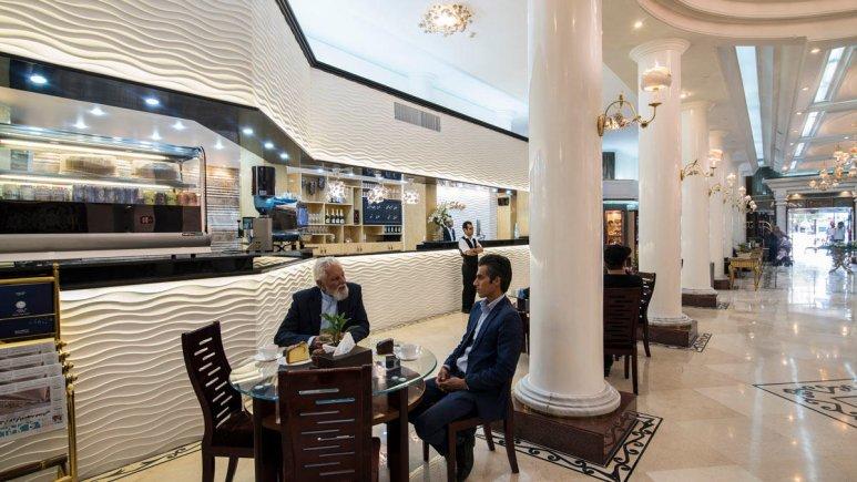 هتل بین المللی قصر مشهد کافی شاپ