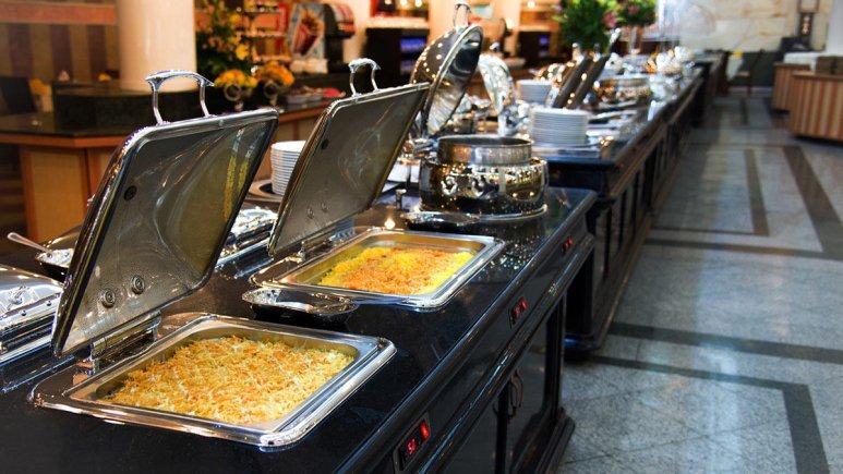 هتل بین المللی قصر مشهد رستوران 3