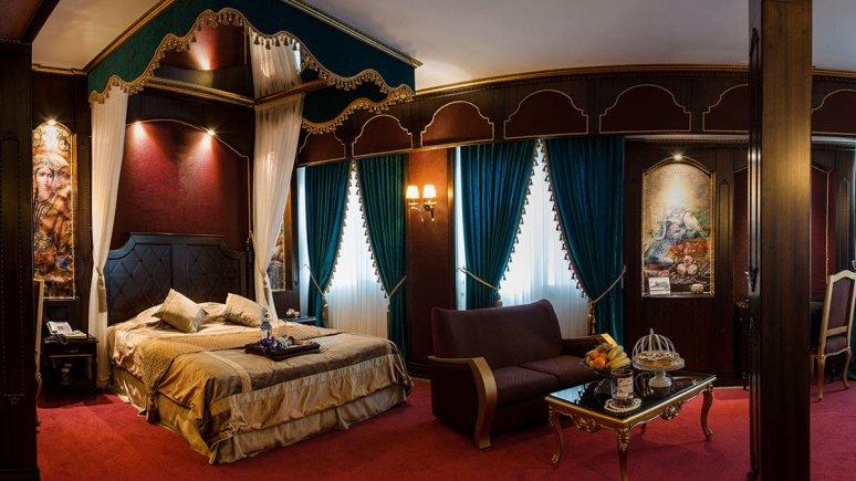 هتل بین المللی قصر مشهد اتاق دو تخته دابل قاجار 1