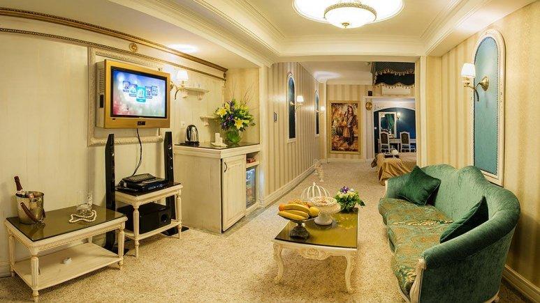 هتل بین المللی قصر مشهد اتاق دو تخته پرزیدنت ویژه 1