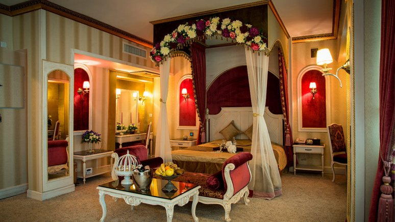 هتل بین المللی قصر مشهد اتاق دو تخته دابل رویال لاکچری 1