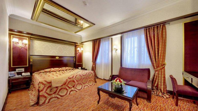 هتل بین المللی قصر مشهد آپارتمان دو خوابه چهار تخته