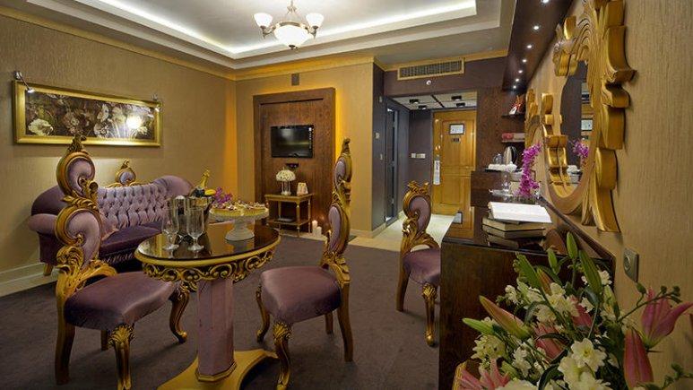 هتل بین المللی قصر مشهد اتاق دو تخته پرزیدنت 2