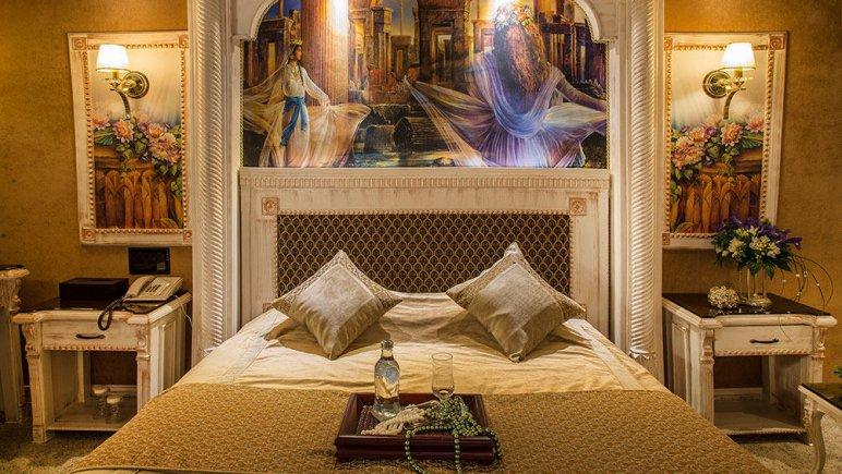 هتل بین المللی قصر مشهد اتاق دو تخته دابل هخامنش 2
