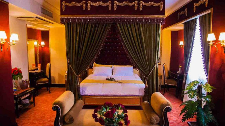هتل بین المللی قصر مشهد اتاق دو تخته پرنسس 2