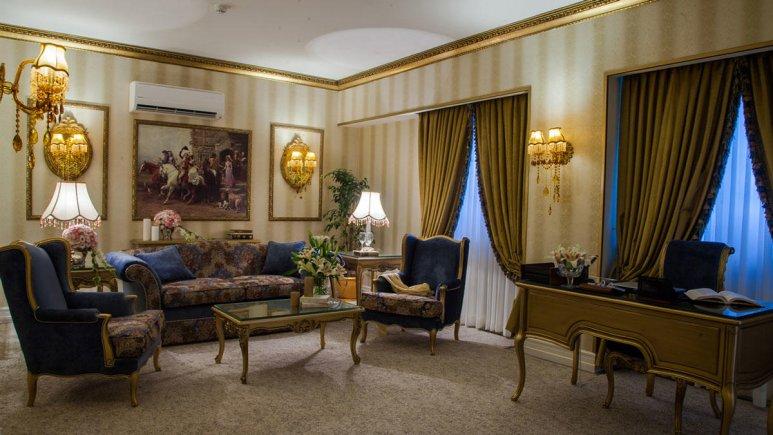هتل بین المللی قصر مشهد سوئیت دو تخته رویال 3