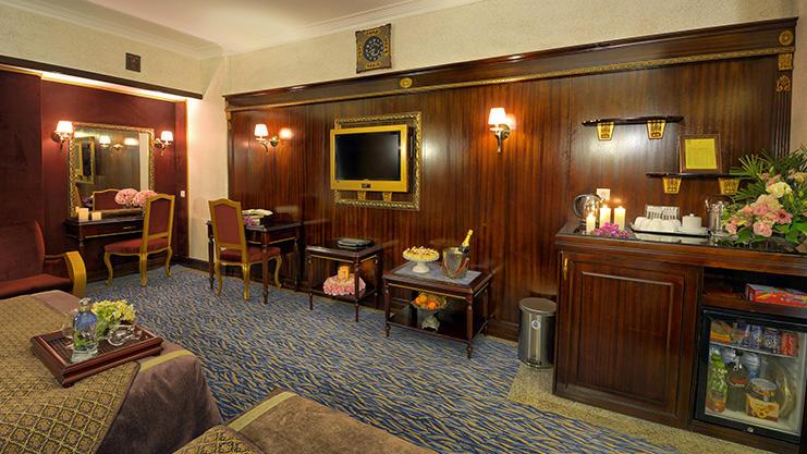 هتل بین المللی قصر مشهد فضای داخلی اتاق ها 2