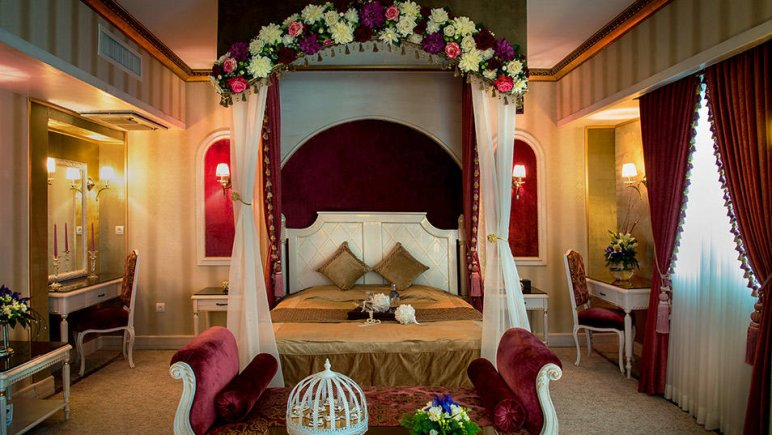 هتل بین المللی قصر مشهد اتاق دو تخته دابل رویال لاکچری 2