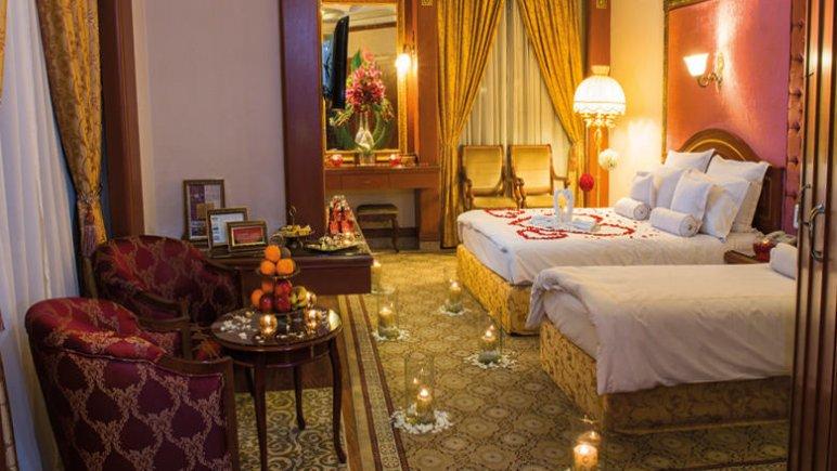 هتل قصر طلایی مشهد اتاق دو تخته دابل پاناروما