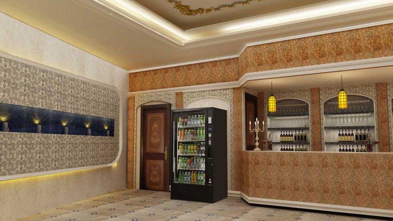 کافی شاپ هتل قصر طلایی