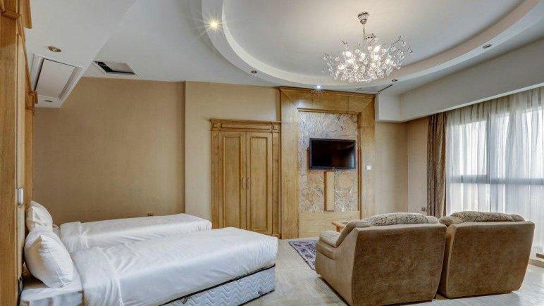 هتل کوثر ناب مشهد فضای داخلی سوئیت ها 5
