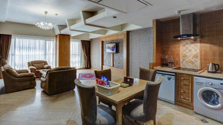 هتل کوثر ناب مشهد فضای داخلی سوئیت امپریال