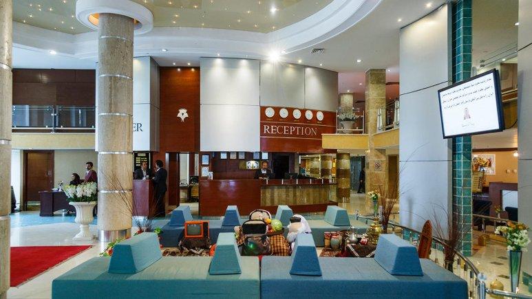 هتل پارسیان کوثر اصفهان لابی 1