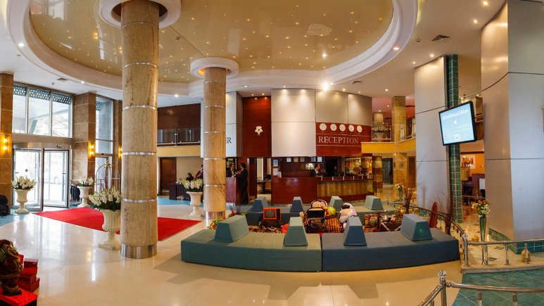 هتل پارسیان کوثر اصفهان لابی 3