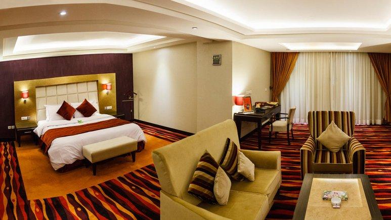 هتل پارسیان کوثر اصفهان سوئیت دو تخته رویال 1