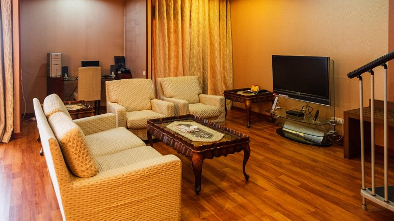 هتل پارسیان کوثر اصفهان سوئیت دو تخته دوبلکس 1